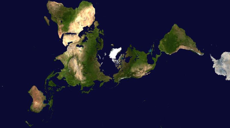 Une façon originale de voir le Monde.