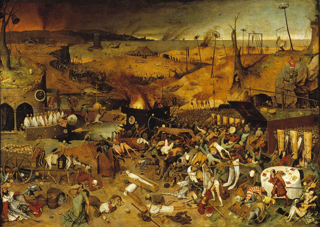 Le Triomphe de la Mort, Pieter Bruegel l'Ancien (1562)_Laurent-TESTOT