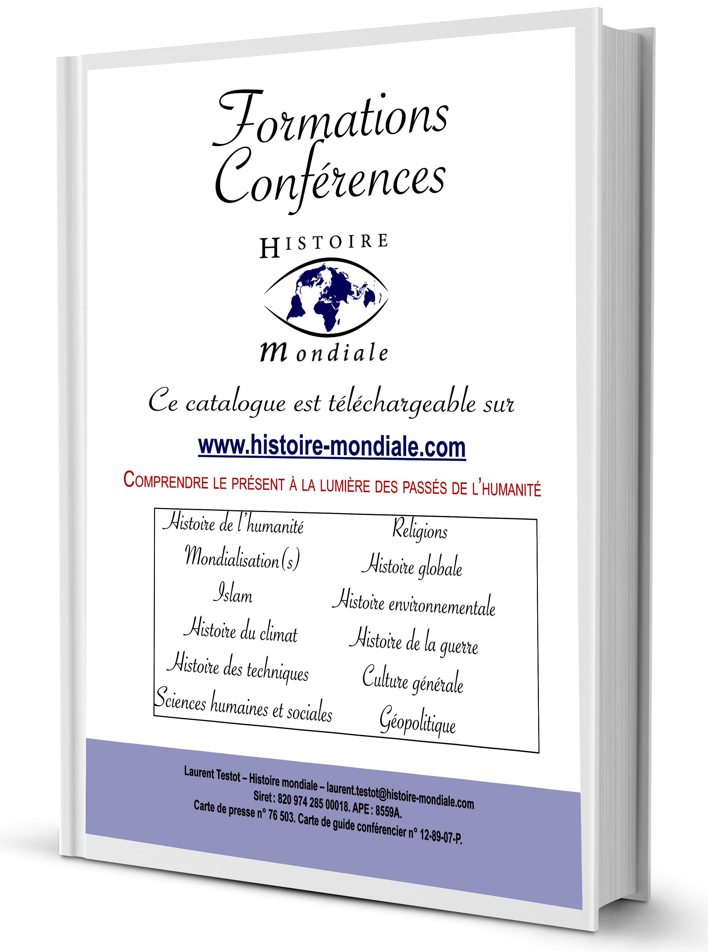 Télécharger le catalogue des conférences et formations  histoire-mondiale